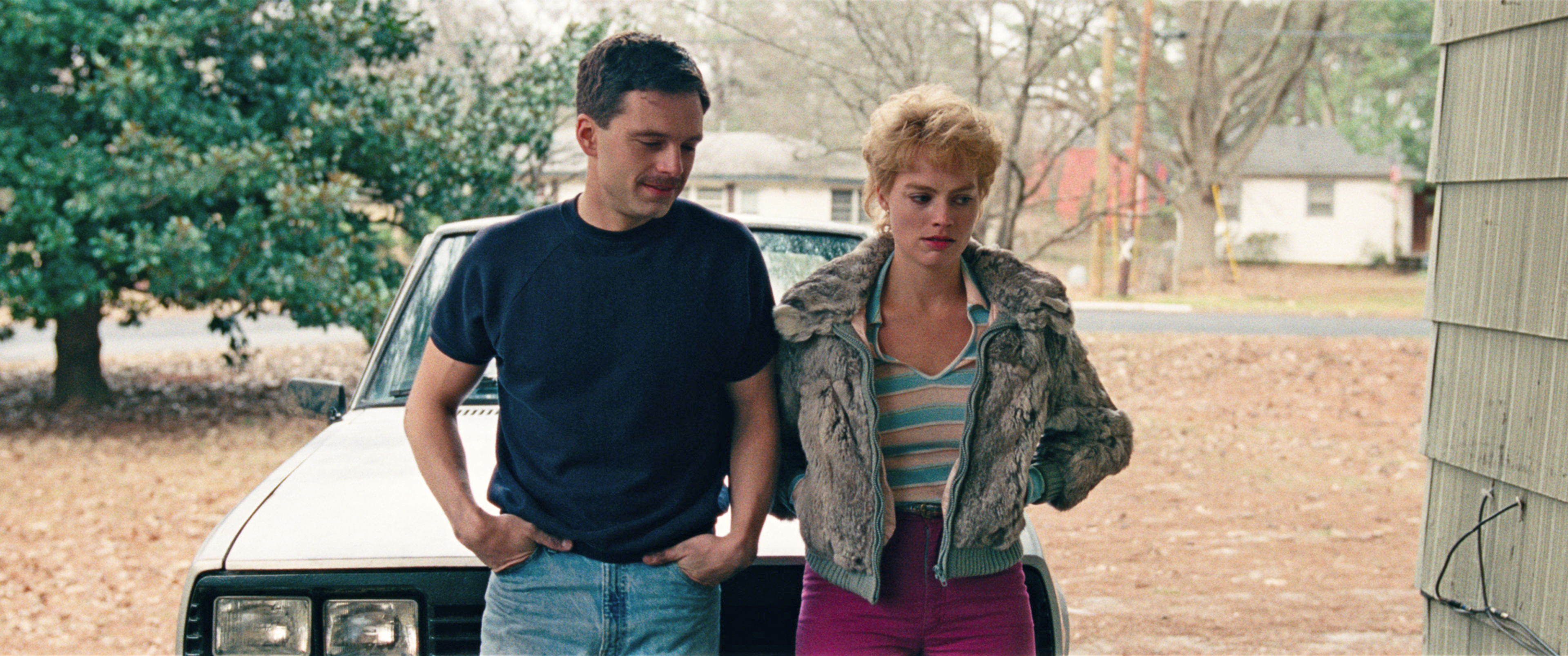 6-Young Tonya Harding (Margot Robbie) and Jeff Gillooly (Sebastian Stan) in I, TONYA, courtesy of NE