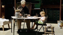 7-David Daughter Painting Together
