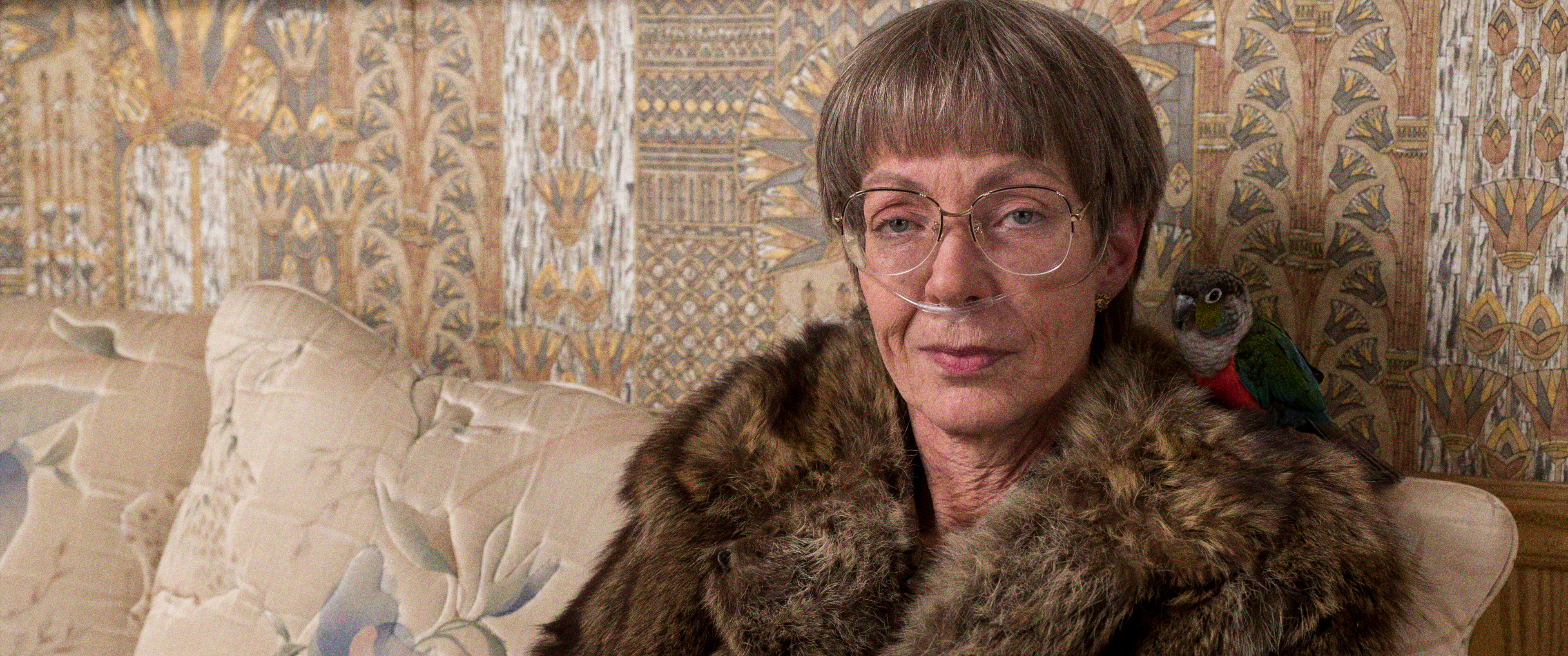 3-LaVona Golden (Allison Janney) and her pet bird in I, TONYA, courtesy of NEON