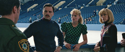 9-Jeff Gillooly (Sebastian Stan), Tonya Harding (Margot Robbie) and Diane Rawlinson (Julianne Nichol