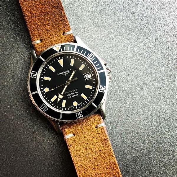 Vintage Longines Admiral Diver 7464
