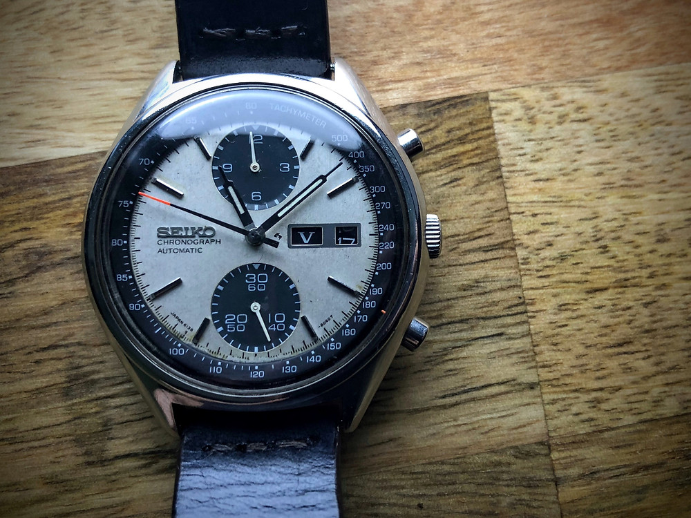 Legend status attained - the Seiko Panda 6138 Chrono