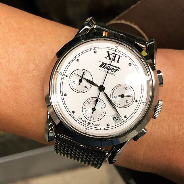 Tissot released the Heritage 1948 Chronograph to much delight of the one writing this blog entry.