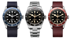 The Tudor Heritage Black Bay in its most basic forms. More on the website.