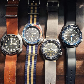 Four kinds of vintage watch collectors