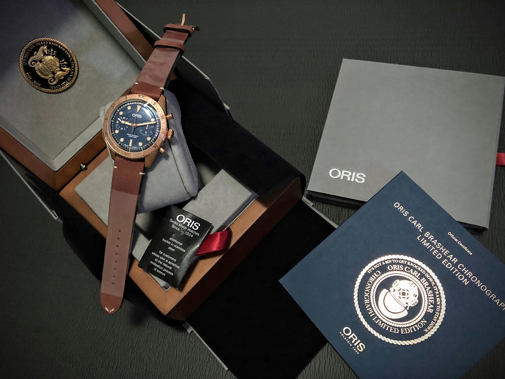 The Full Set - click to visit the Oris website