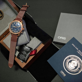 Oris Carl Brashear Limited Edition Chronograph