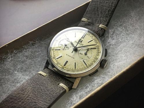"""Homer"" - 1960s Tissot Lemania 871 Manual Wind Chronograph"