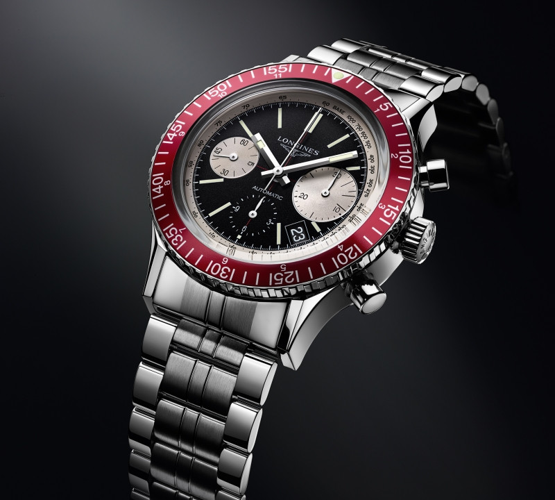 The Longines Heritage Diver 1967. More details on the website.