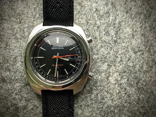 """Doc"" - 1971 Seiko 5 Sports 7017-8000 Flyback Pulsimeter"