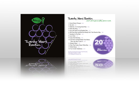 The Grapevie Band CD