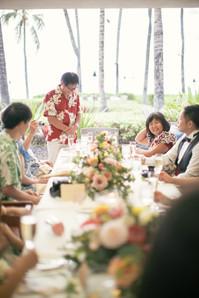 ハワイ島ウェディング|レセプション