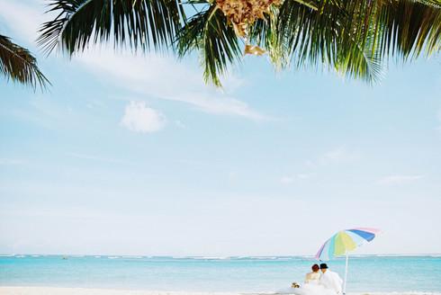 ハワイウェディング |ビーチ撮影