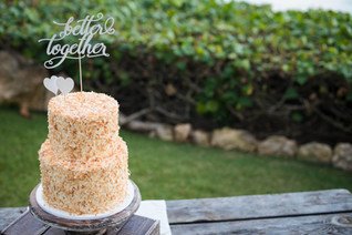 Hawaii Wedding_Wedding Cake