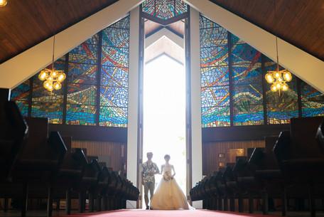 ハワイウェディング|教会