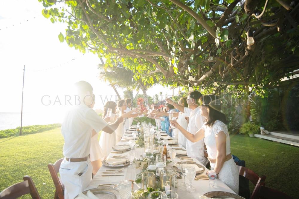 Hawaii Garden Wedding