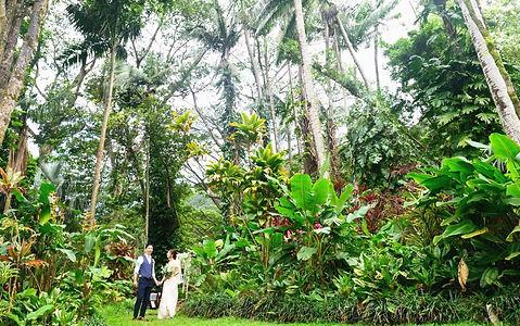 ハワイボタニカルガーデン挙式