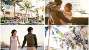 Wedding Gallery / Halekulani Courtyard Wedding