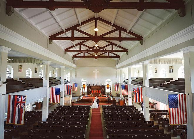 ハワイ教会挙式