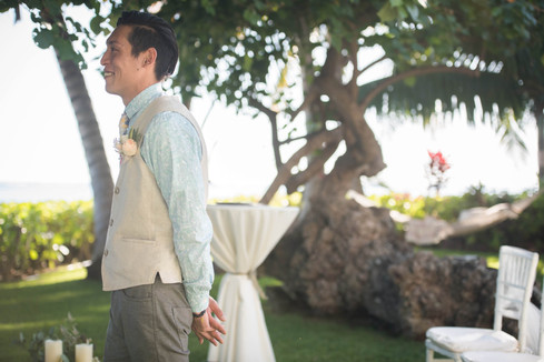 Hawaii Wedding_First Look
