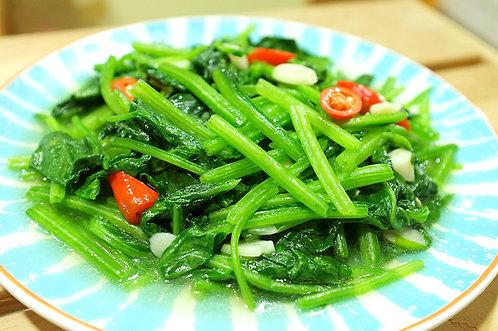 清炒菠菜(素)
