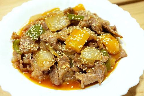 茄汁燴肉片