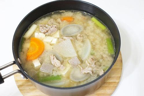 日式豬肉味噌湯