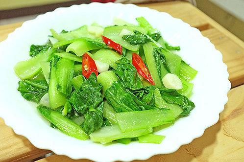 清炒青江菜(素)