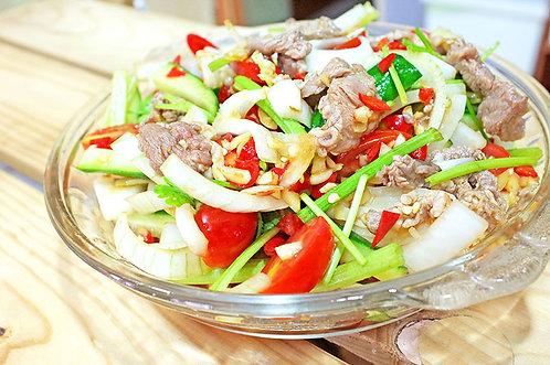 泰式牛肉沙拉