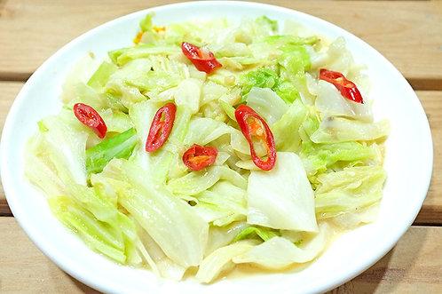 腐乳高麗菜(素)