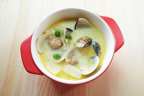 法式蛤蠣巧達湯(兩人份)