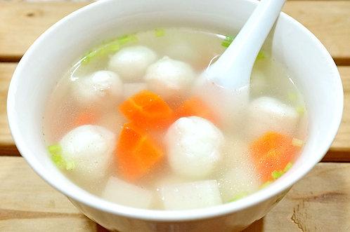 蘿蔔丸子湯
