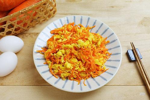 紅蘿蔔炒蛋(蛋素)