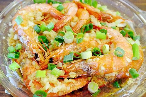 蒜泥蒸蝦(電鍋)