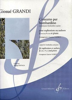 Concerto Per Bombardino - Giosué Grandi - Giosué Grandi