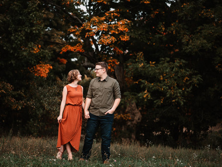 Sam + Randi~ Couple Session, Osseo Michigan