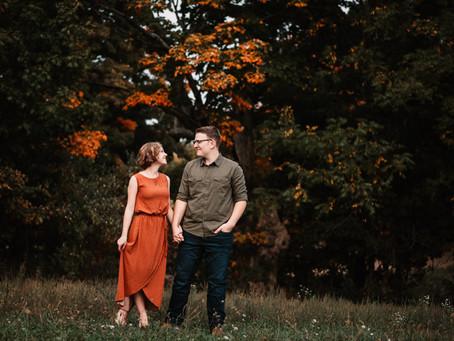 Sam + Randi~ Couple Session, Osseo Michigan