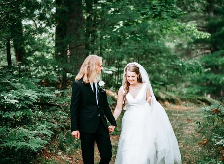 Everett + Lexee- Kalkaska, Michigan Wedding