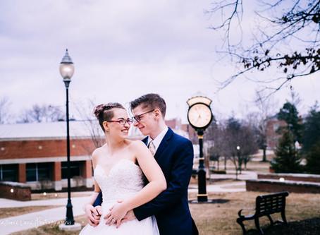 Stephen + Kenna~ Adrian, Michigan Wedding