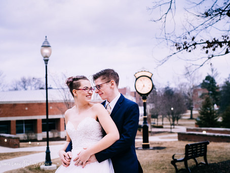 Stephen + Kenna~ Adrian, Michigan Wedding
