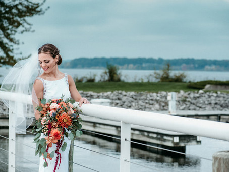 Samara + Spencer~ Muskegon, Michigan Wedding