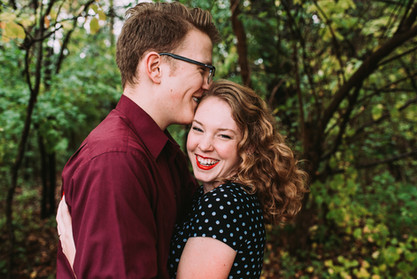 Hillsdale Michigan Engagement Photographer- Sycamore Lane Photography