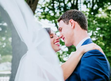 Andrew + Lauren Hillsdale, Michigan Wedding