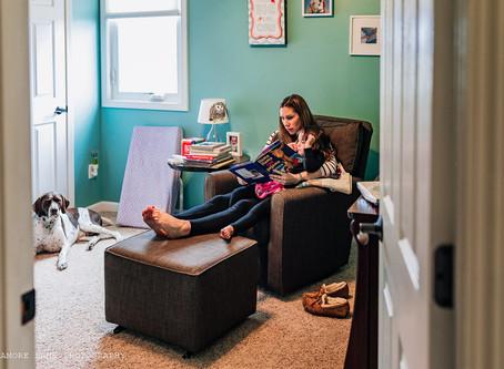In-Home Maternity Session- Britton, Michigan
