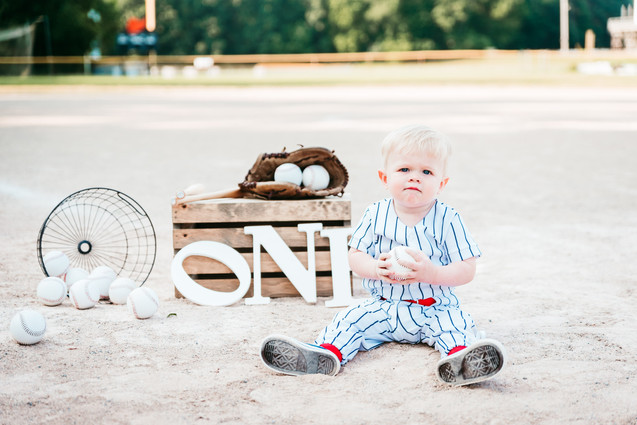 One Year Old Photo Session, Hillsdale, Michigan