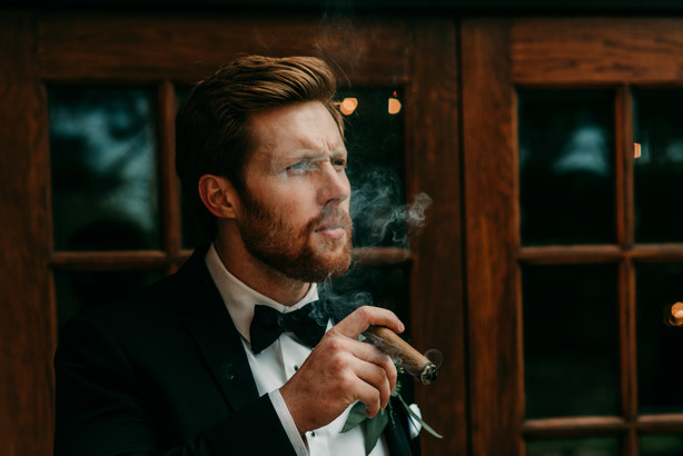 Groom Portrait at Sycamore Lane Photography