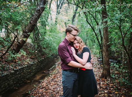 Sam & Randi- Hillsdale Michigan Engagement Session