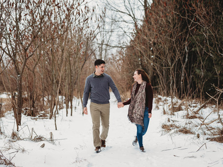 Jo + Nick~ Hillsdale, Michigan Engagement Session