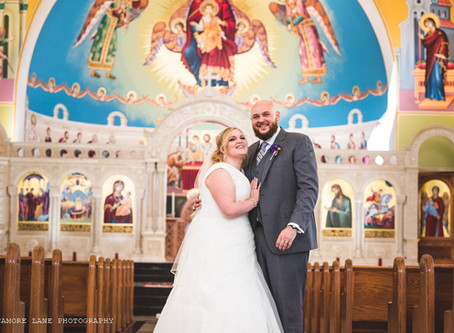Joey + Rian- Livonia, Michigan Wedding