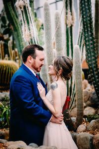 Bridal Portrait at Matthaei Botanical Gardens